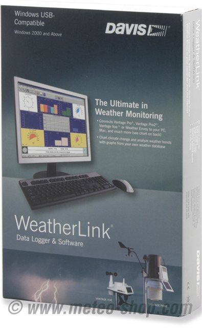WeatherLink con modulo allarmi per Windows - Imballo Originale